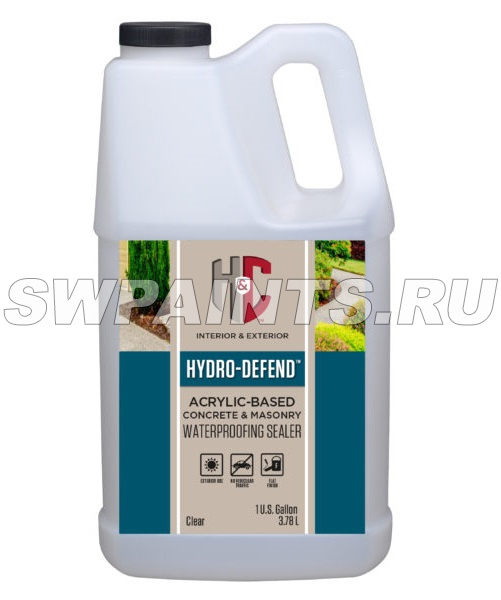 H&C HYDRO-DEFEND Concrete & Masonry Waterproofer Sealer