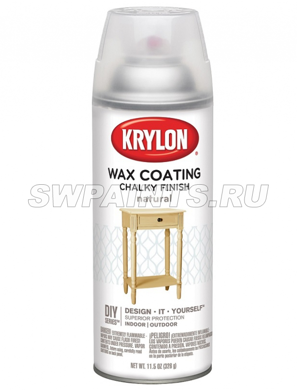 Krylon Wax Coating Natural