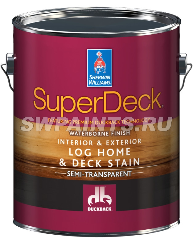 SuperDeck Log Home & Deck Stain