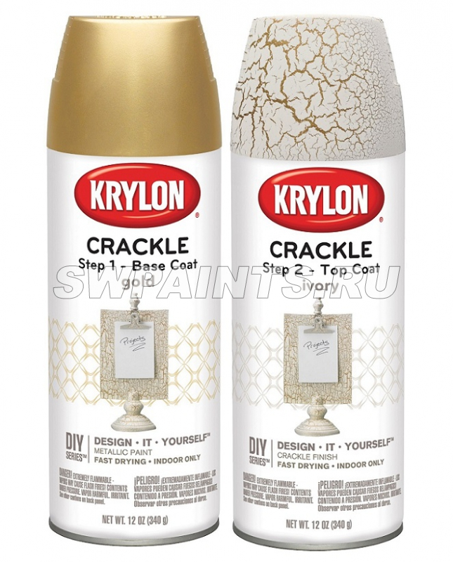 Krylon Crackle - Top Coat