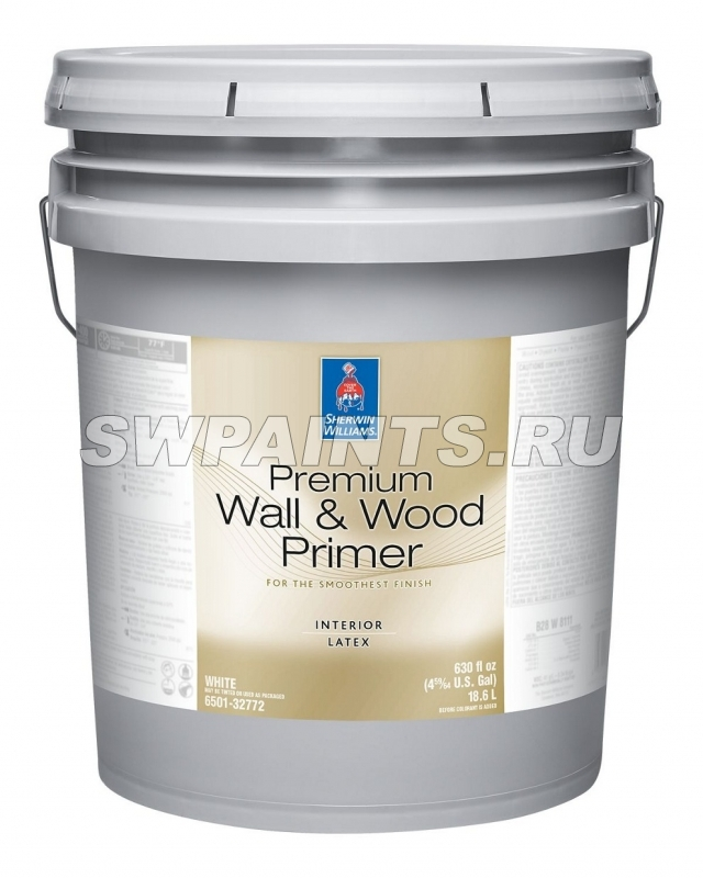 Premium Wall & Wood Interior Latex Primer