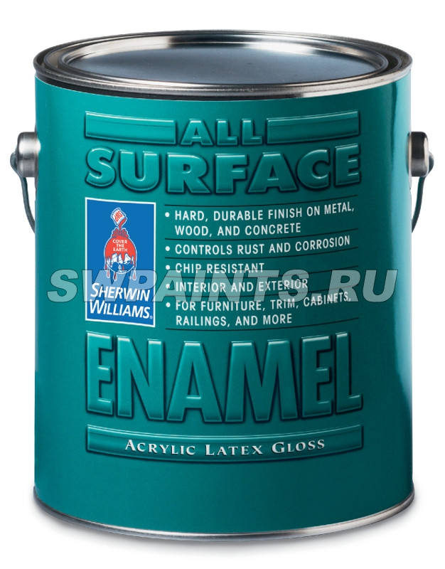 All Surface Enamel Akrylic Latex Gloss