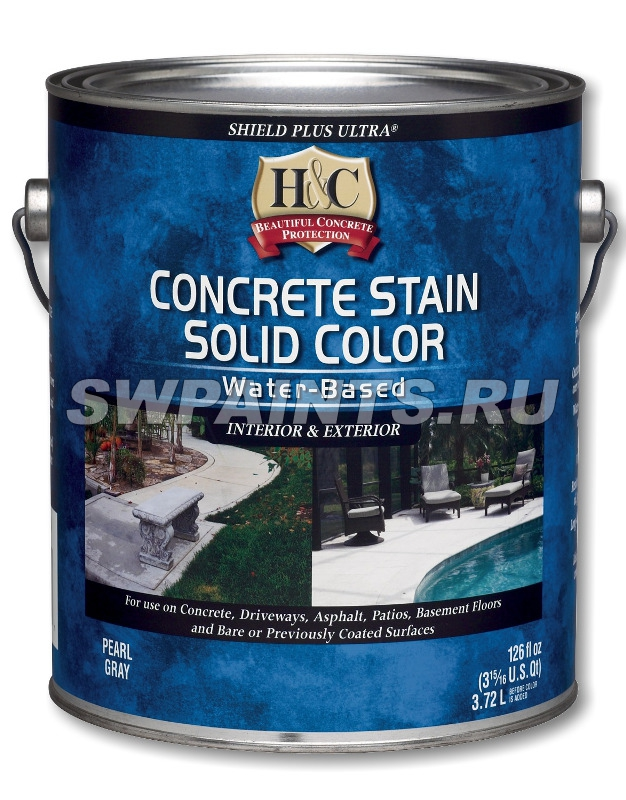 H&C Concrete Stain Solid Color Water-Based