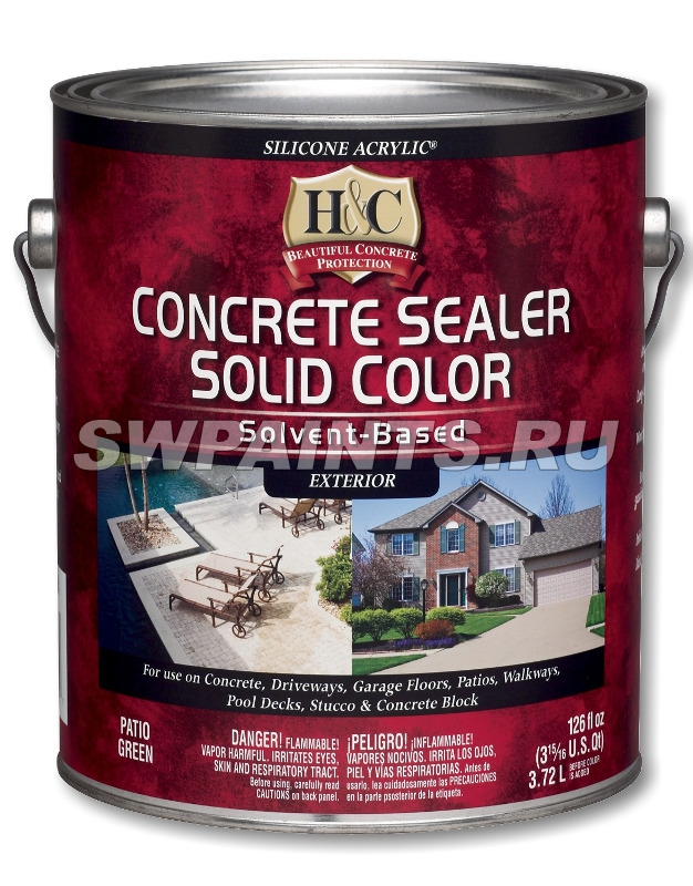 H&C Concrete Sealer Solvent Based