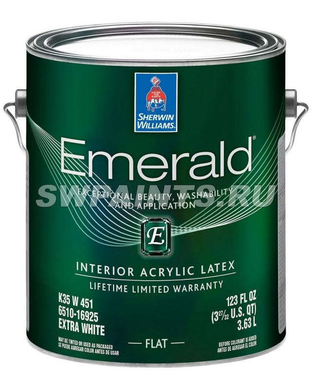 EMERALD Interior Acrylic Latex FLAT (Эмеральд)