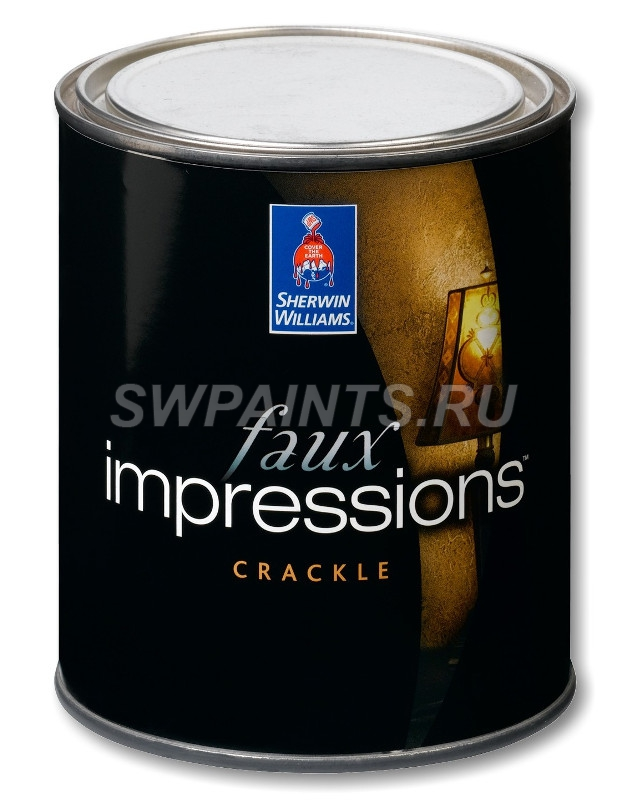 Faux Impressions Crackle