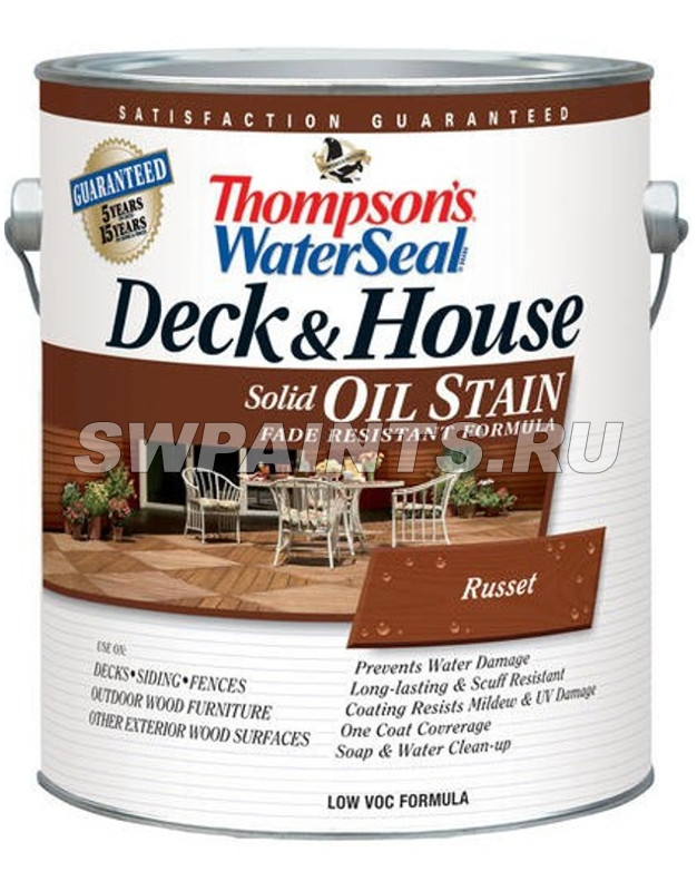 Thompsons WaterSeal Deck & House Semi-Transparent Oil Waterproofing Stain