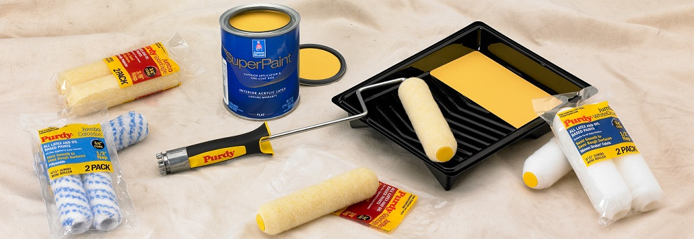 SuperPaint Interior Acrylic Latex Flat-0